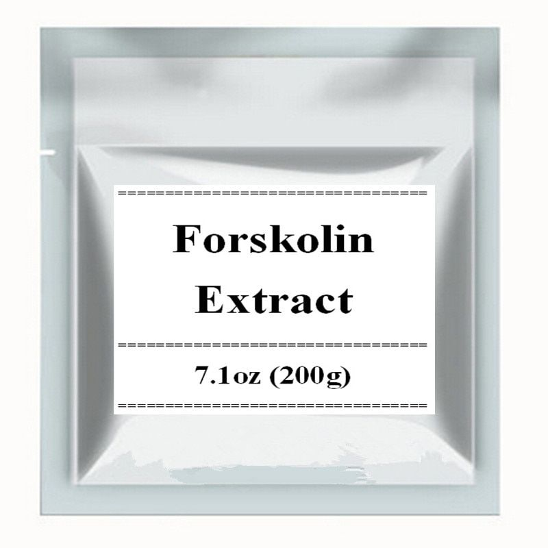 7.1 oz (200g) Coleus Forskohlii Extract 20% Forskolin Powder free shipping