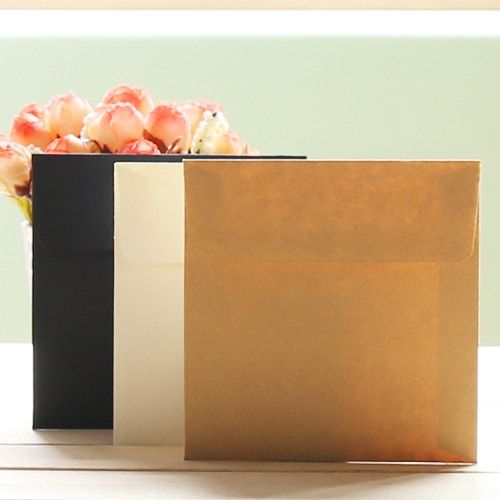 50pcs/ lot paper envelopes Romantic Plain blank kawaii  sobres papel/invitation envelope gilt decorated/whloesale