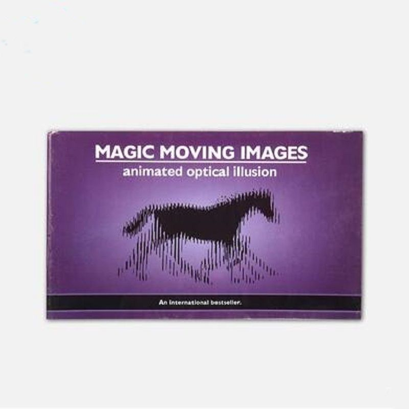 Magic animation book magic moving images animated optical illusion magic tricks magic props