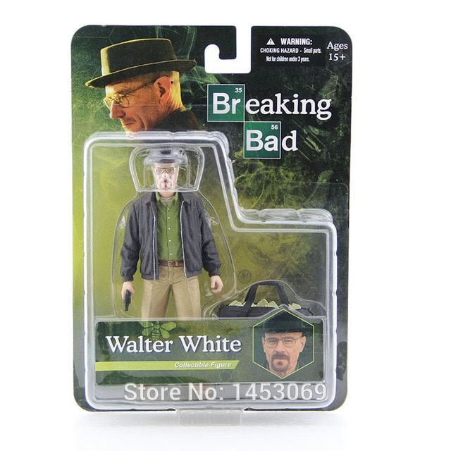 MEZCO Breaking Bad Heisenberg Walter White PVC Action Figure Collectible Figure Model Toy Classic Toys 6""