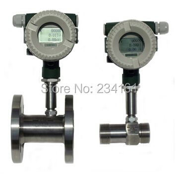 Air flow meter Gas turbine flowmeter with 4~20mA output  DN40