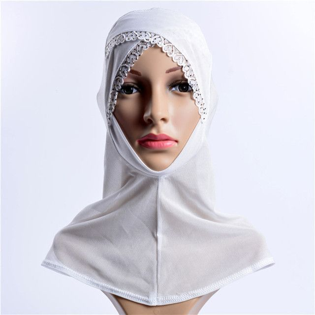 Muslim Lace Hijab Woman Scarfs Cotton Voile Embroidery Jersey Hijab Underscarf Caps Viscose Crystal Hijab Shawle