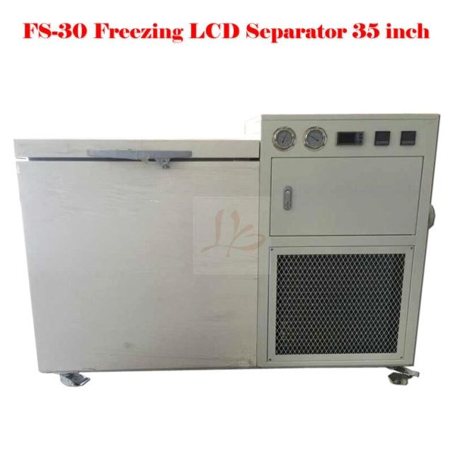 (EU Free Taxes!) Max 35 inch freeze automatic lcd separator FS-30 frozen LCD screen separator minimum minus 150 degree