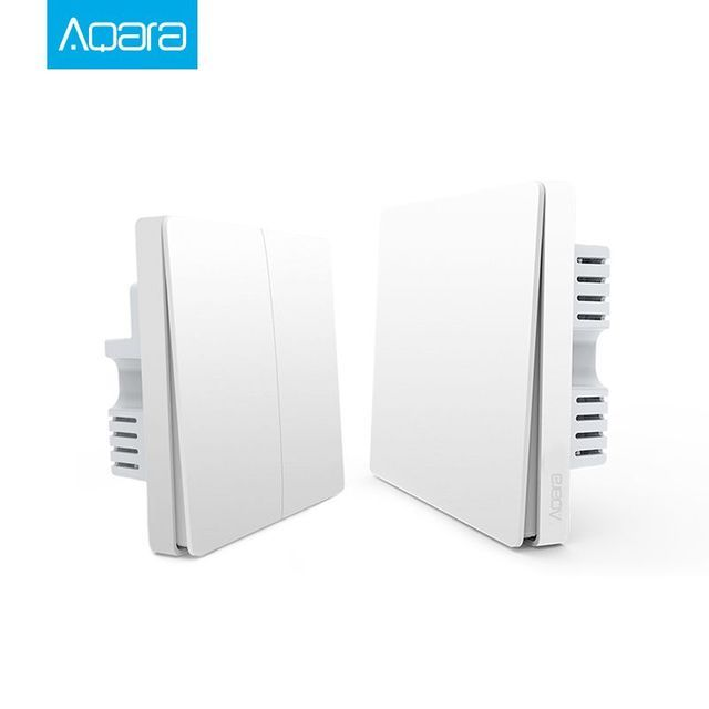 Xiaomi Aqara Smart Home kits Neutral & live wire  wall switch ZiGBee version Wireless Key Wall Switch APP Remote By Mi home APP