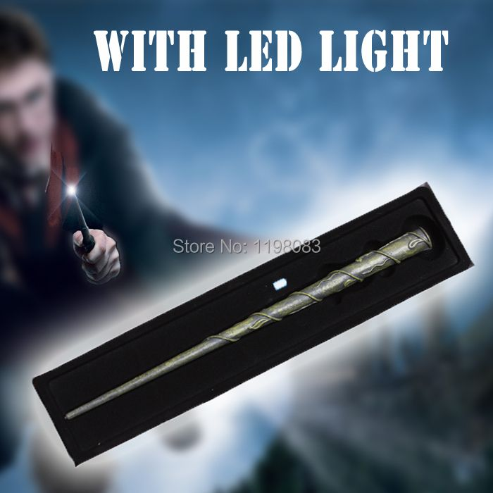 Hogwarts HP Hermione's with LED light  Illuminating tip Magical Wand