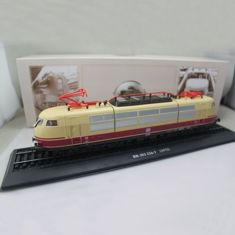 ATLAS 1/87 Ho scale Tram Siemens BR 103 226-7 1973 Eisenbahn Static Train Toys Models Gift Collection Diecast