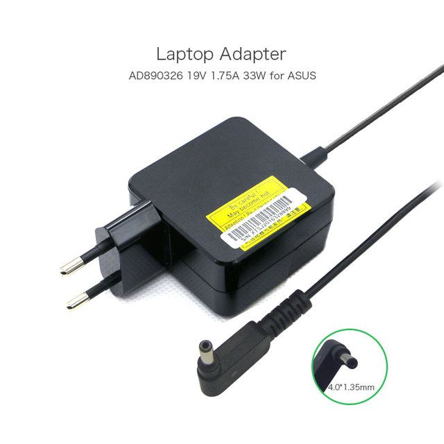 19V 1.75A 33W Laptop AC Adapter for ASUS X201E X202E Q200E F201E EXA1206EH EXA1206CH EXA1206UH ADP-33BW A AD890326 Power Cord