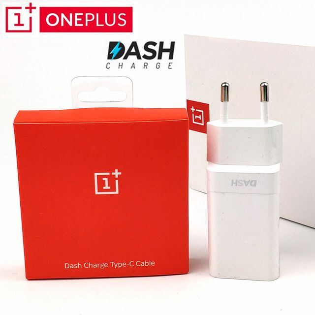 Original Oneplus 6 Charger 5V 4A Fast Charger Adapter/Dash charger + USB 3.1 TYPE-C Dash Charging Cable for One plus 3 3t 5 5t