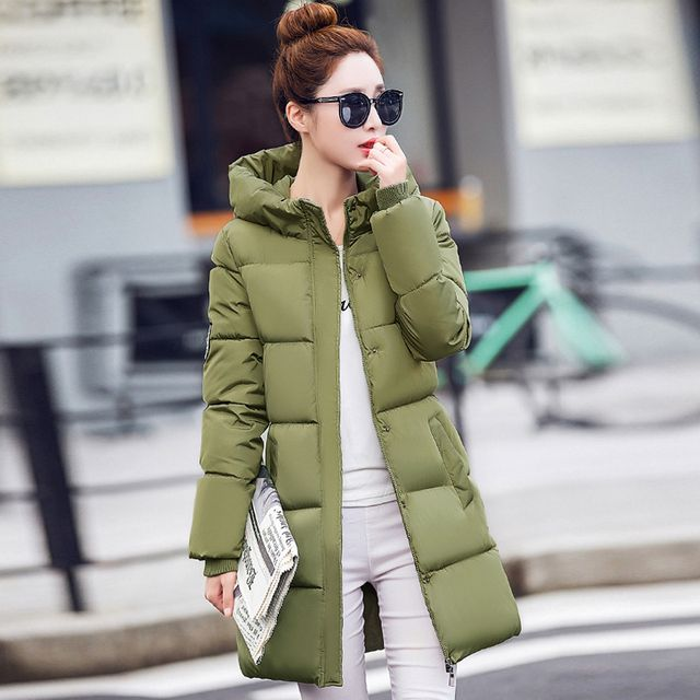 Winter Coat women 2016 Fashion Female Outerwear Plus size Long type Thickening Warm Casual Wadded  coat women Jackets  ys12
