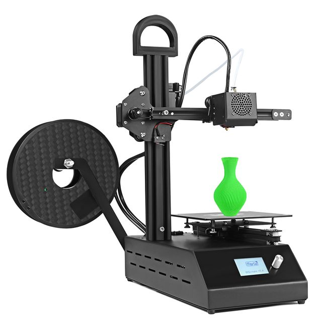DMSCREATE DP2 3D printer kit Portable & easy assembly desktop with high quality  Bowden extruder stable printing precision