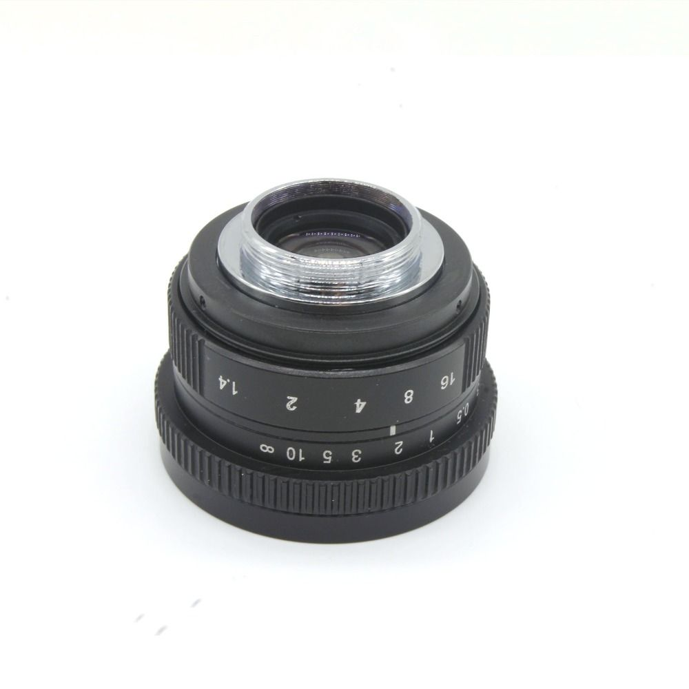 Camera Mirroless 25mm F1.4 C-Mount Camera Lenses For Samsung NX APS-C M4/3 FX EOSM N1 P/Q NEX E-P1 E-PL1 G1 GF1 GH1 NEX-3 NEX-5