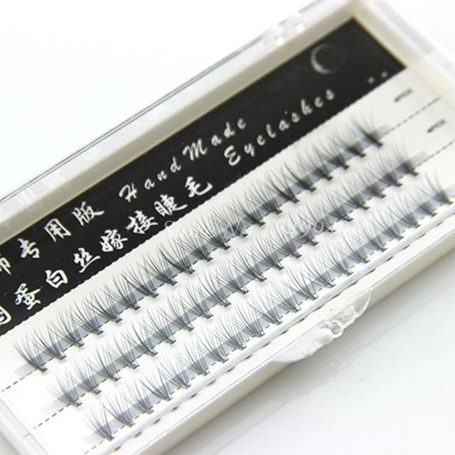 Graft False Eyelashes Natural Long Crisscross Soft Filament Fake Eyelashes Fashion Beauty Makeup Stage Graft Lashes