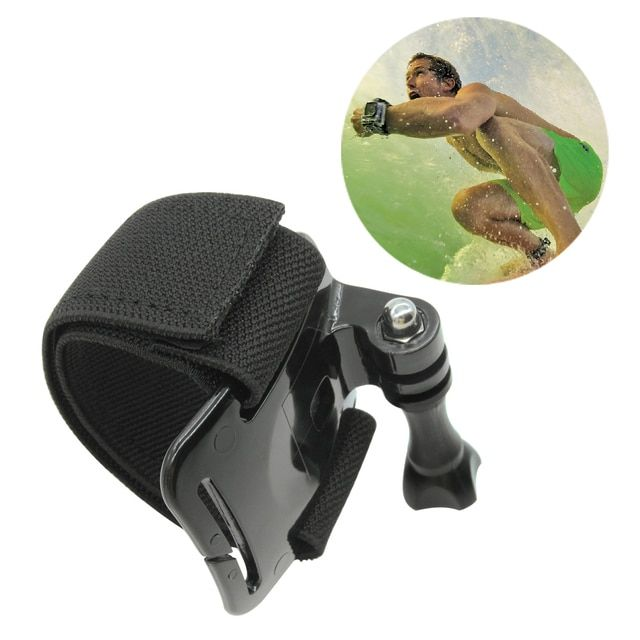 For GoPro Accessories Elastic Adjustable Wrist Strap Mount Band Arm for Gopro Hero 1 2 3 3+ 4