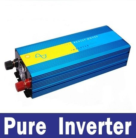 DC 36V to 120V 60HZ off iverter Pure sine wave power inverters 3500w car inverter free shipping 3500W panel solar inversor