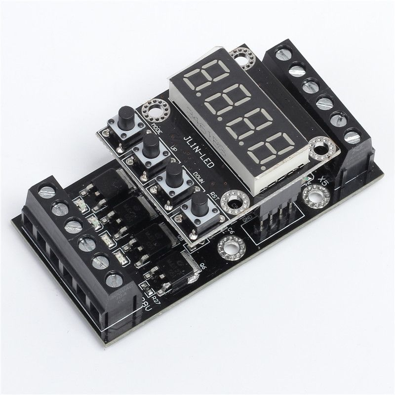 FX1N_10MT PLC Industrial Controller Board LED Display Delay Module Digital Tube 10V-24V DC