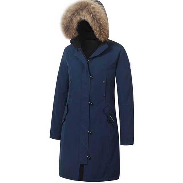 Women'S White Duck Down Coat New Brand Canada Outdoor Wear Winter Women'S Winter Down Long Jacket Long Coat Parka Cardigan z10