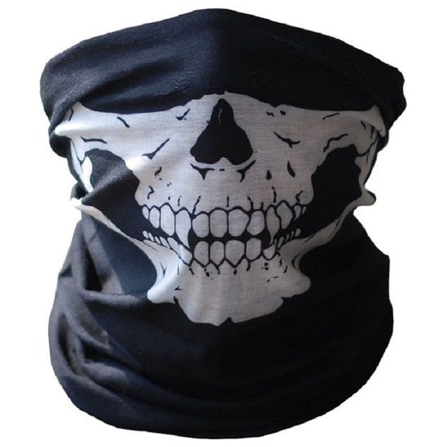 Motorcycle Skull Ghost Face Windproof Mask Outdoor Sports Warm Ski Caps Bicyle Bike Balaclavas Masks Scarf Halloween Mask