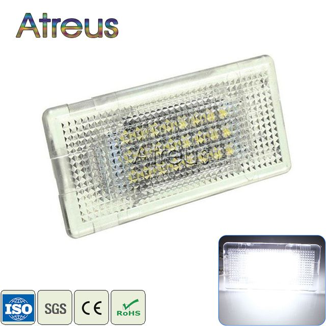 Atreus 1X Car LED Luggage Light 12V For BMW E39 E60 E60N E90 E90N E92 E93 E36 E38 E65 E66 E67 E68 F01 White SMD LED Luggage Lamp