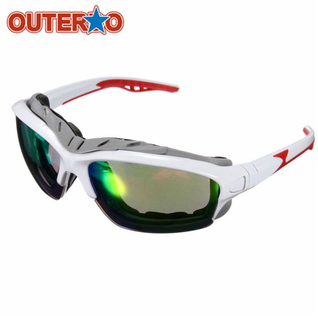 OUTERDO NEW Unisex Sport MTB Mountain Bike Sun Glasses Cycling Bicycle Bike Outdoor Eyewear Goggle Gifts