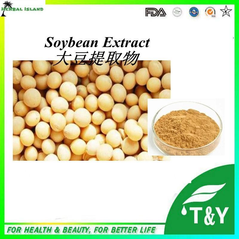 Hot sale! Soy Isoflavone.Soybean Extract.Soybean Extract Powder 400g/lot