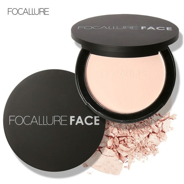 Focullare New Makeup face Pressed Powder Makeup Loose Powder Bare Mineralize Skin Finish Natural Mineral Powder Palette to Face
