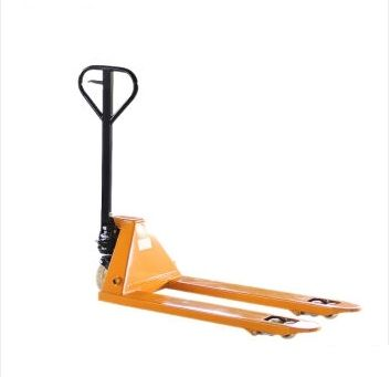 Manual hydraulic pallet trucks to forklift truck cattle trailer 2 t hydraulic push  wheel