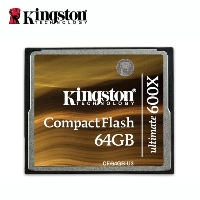 Kingston Digital compactFlash Ultimate 600x 64gb Flash cf card camera memory cards 100% of home furnishings