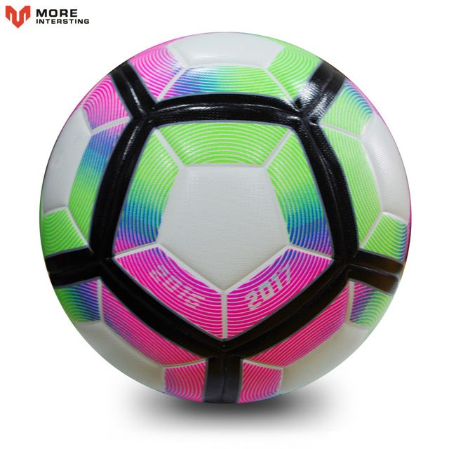 High Quality 2018 Official Size 5 Size 4 Football Ball PU Slip-resistant Seamless Match Training Soccer Ball Football Equipment