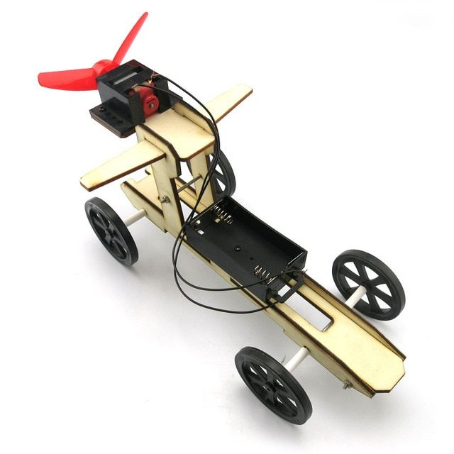 Four-wheel Drive Technology small production funky DIY Science Toys Car