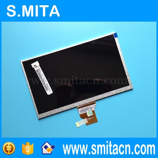 "9"" Tablet LCD Screen AT090TN10 20000938-30 for Sanei N91 Q90 A92 M10 for Ployer MO90S S90 LCD Replacement"