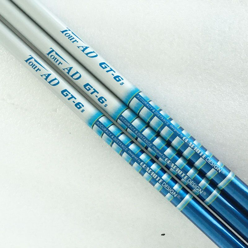 New Golf shaft TOUR AD GT-6 Golf Driver shaft 6pcs/lot Graphite Golf shaft  R or S Flex Club wood shaft Free shipping