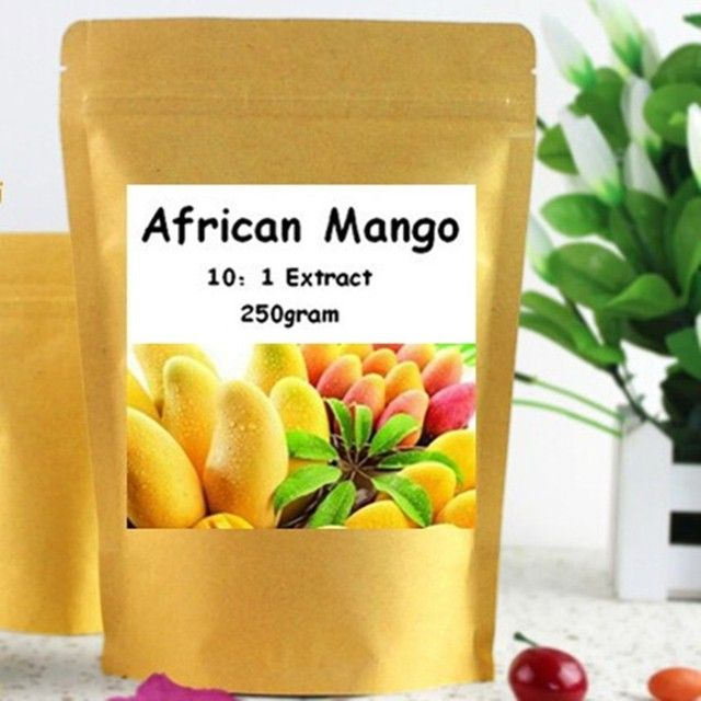 250gram African Mango 10:1 Extract Powder free shipping
