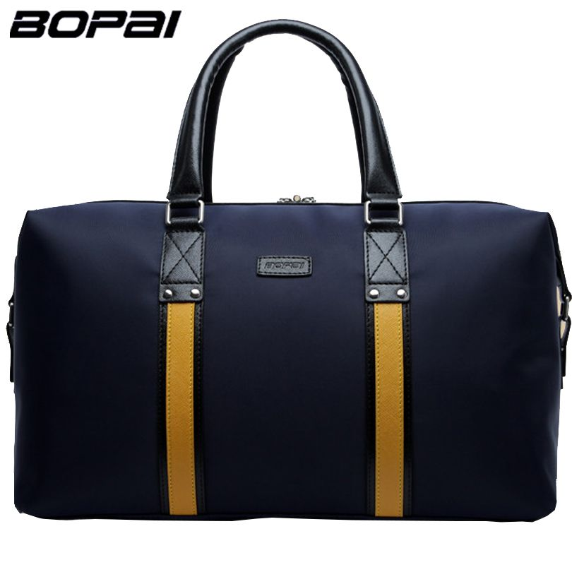 BOPAI High Quality Waterproof Men Travel Bags Versatile 2016 Women Travel Bag Top Handle Tote Bag Luggage maletas de viaje mujer