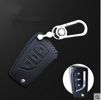 High quality! Special car key case for New Toyota Highlander 5seats 2016-2015 durable key holde car key wallet,Free shipping