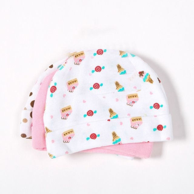 Lovely Kids Baby Hat For Boys Girls Soft Hats For Children Baby Cap Beanie Baby Cute Character Pattern Hat Gorros Cap 0-6M