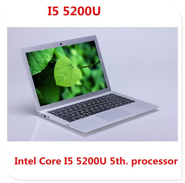 I5 5th Gen laptop ultrabook netbook 1920*1080 HD screen 4GB 500GB HDD & 64GB SSD USB 3.0 HDMI windows notebook computer