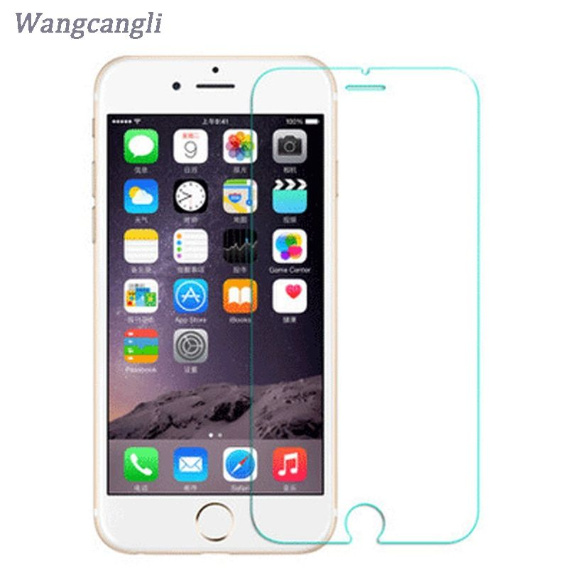 10 PCS 9H screen protector Glass on For iPhone 6 6S 7 8 5 4 Tempered Protective Glass For iphone 6 SE X 5 S 7 plus Glass