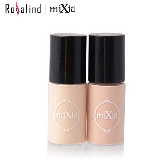 [Rosalind Beauty] MIXIU Professional Face Makeup 3 Colors Optional Liquid Concealer Cosmetic Sample Drop Shipping