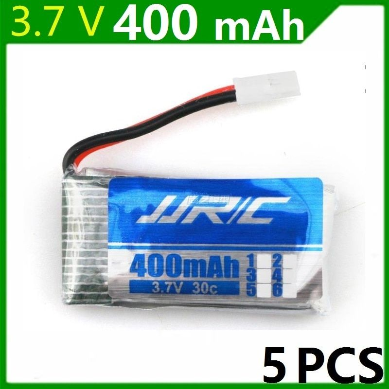 JJRC H31 Spare Parts 3.7V 400mah Original Battery H31-011 Lipo battery 3.7 V 400 mah For JJRC H31 XH plug 30C 5pcs/lot