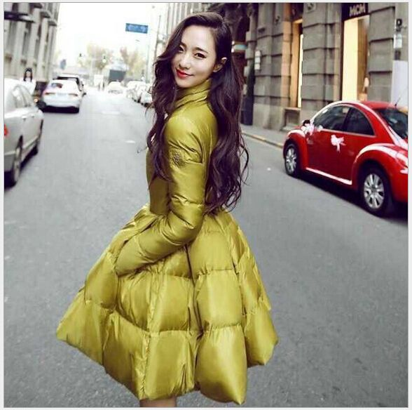 Snow wear wadded jacket female 2015 autumn and winter jacket women slim cotton-padded jacket outerwear winter coat women J-0114