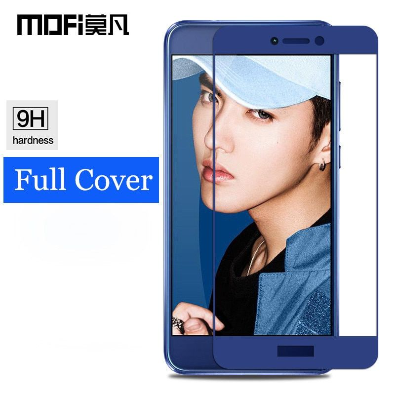 Huawei p8 lite 2017 glass MOFi original Huawei p9 lite 2017 screen protector tempered film full cover Huawei honor 8 lite glass