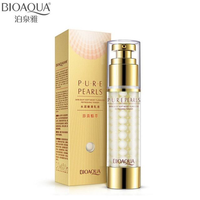 BIOAQUA Brand Pure Pearl Face Cream Skin Care Hyaluronic Acid Deep Moisturizing Anti Wrinkle Face Care Whitening Essence Cream