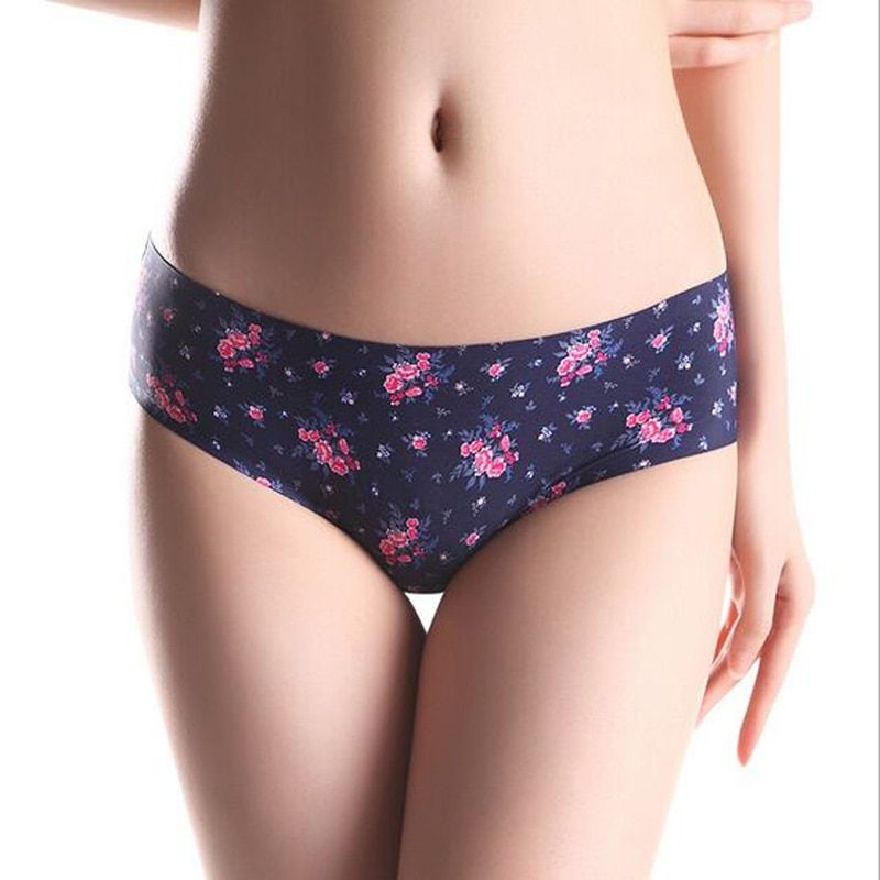 Leopard Fashion Print Underwear Pink VS Brand Sexy Pant for Women Comfortable Lingerie Calcinha