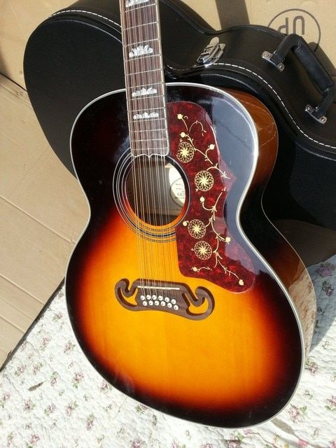 2016 New + Factory + Chibson SJ200 flame maple acoustic guitar abalone binding J200 electric acoustic solid spruce top Acoustic