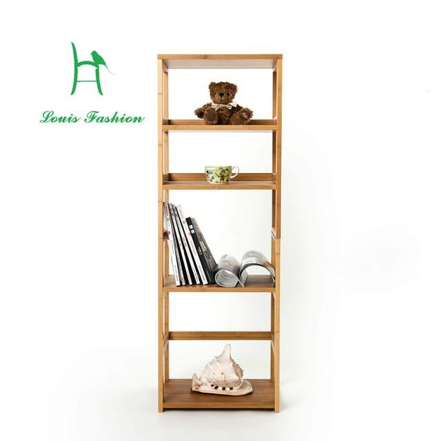 Solid bamboo freestyle convenient practical  bookcase or kitchen clapboard