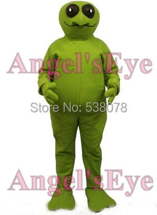 halloween Green Alien Mascot Costume Adult extraterrestrial intelligent beings Theme Mascotte Fancy Dress Anime Cosplay Kits