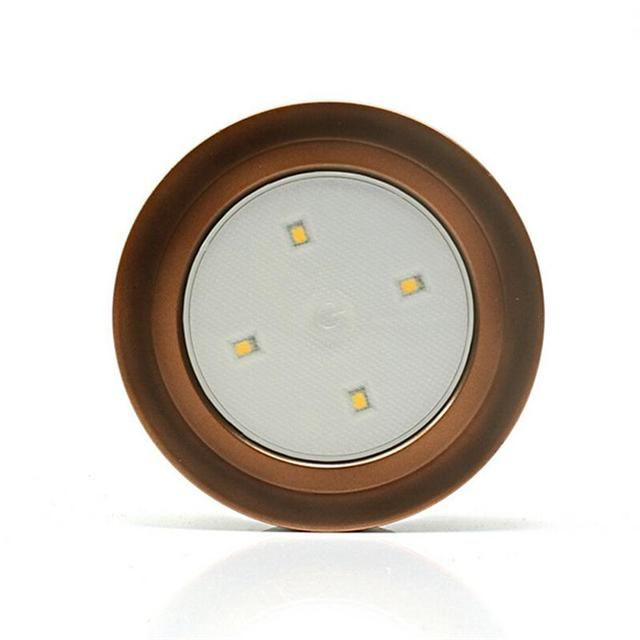 Super Bright Touch Sensor LED Cordless Tap Light Battery-Operated Sticker LED Puck Lights For Closet Hallway Cabinet Lamp