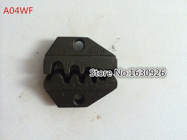 A04WF Die Sets for HS-04WF FSE-04WF AM-10 EM-6B1 EM-6B2 CRIMPING PILER Crimping machine one set