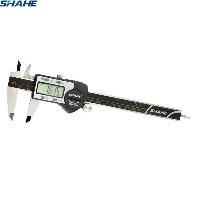 0 - 6 Inches Electronic Digital Caliper with Extra Large LCD Screen Digital Vernier Caliper micrometer paquimetro digital 150 mm