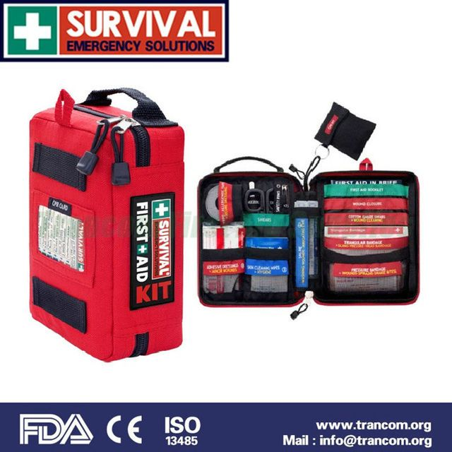 SES03 Medical mini emergency survival first aid kit with FDA/CE